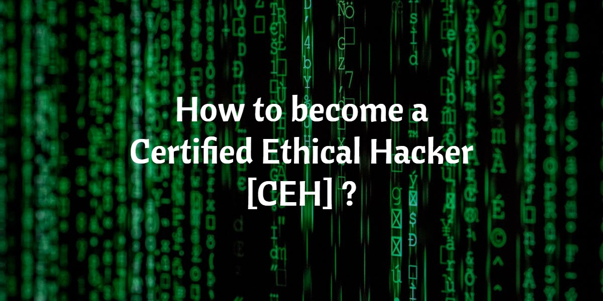How to become a Certified Ethical Hacker [CEH] ?